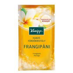 Kneipp frangipáni habzó fürdőkristály 80g