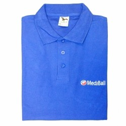 MediBall férfi galléros póló