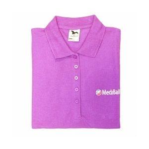 MediBall női galléros póló