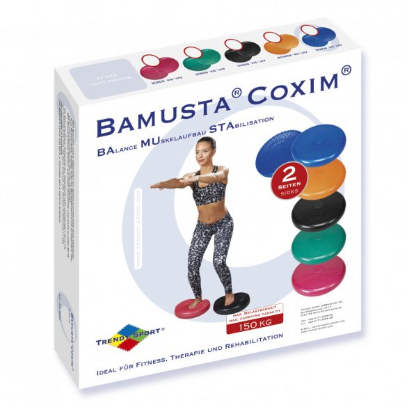Coxim egyensúlyozó párna (tüskés, fekete)