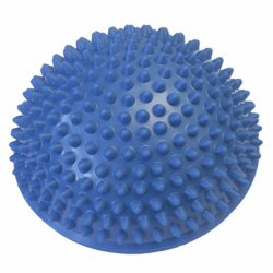 Egyensúlyozó és masszírozó félgömb (kék)