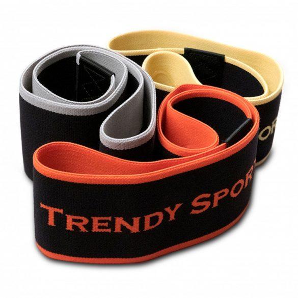 Trendy textil gumigyűrű - erős